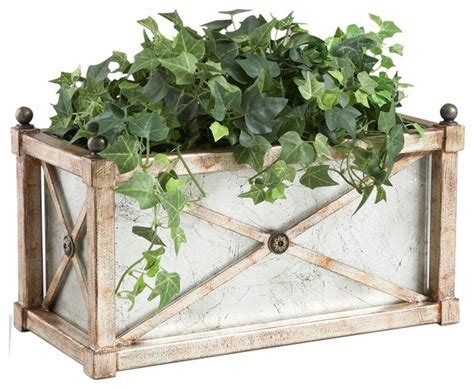 Mirrored Indoor Planters by Chelsea House 40 0262 Rectangle Mirror Planter 380571