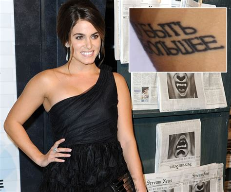 nikki reed tattoo reed the tattoos zimbio