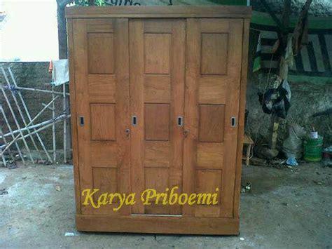 Lemari Kayu Satu Minggu lemari pakaian jati minimalis