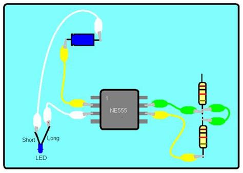 capacitor connected to battery cool circuits club