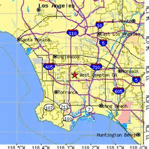 west compton california ca population data races