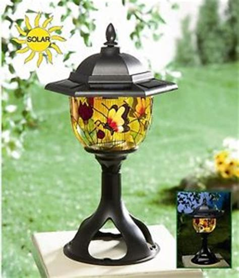 New Solar Power Tiffany Style Patio L Decorative Decorative Garden Lights