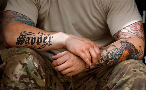 tattoo rules army revises and hair after backlash