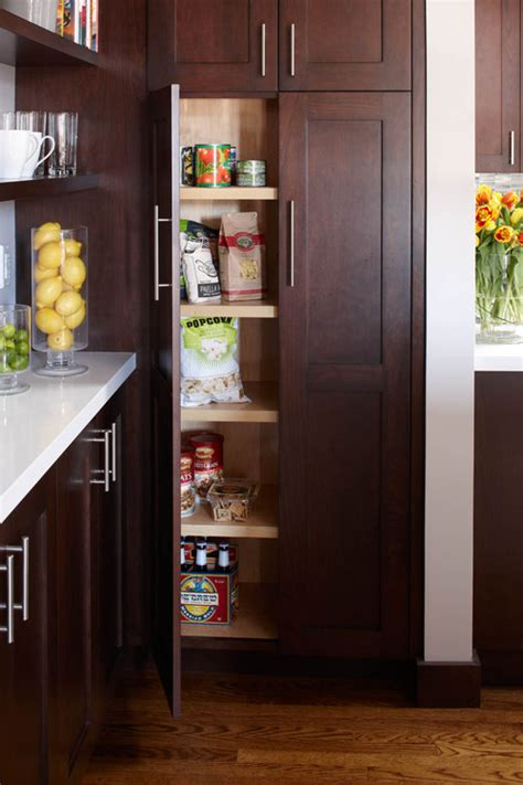 contemporary kitchen pantry the pros and cons of walk in vs cabinet pantries