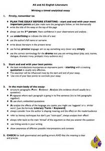 A Level Essay Writing Tips by Bishop Justus A2 2011 2012 Best Essays
