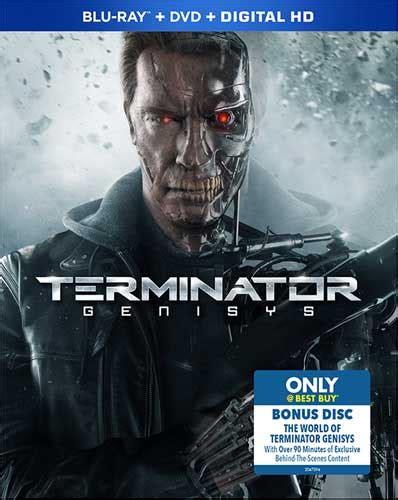 Dvd Terminator Genisys Bluray 25gb il dvd di terminator genisys