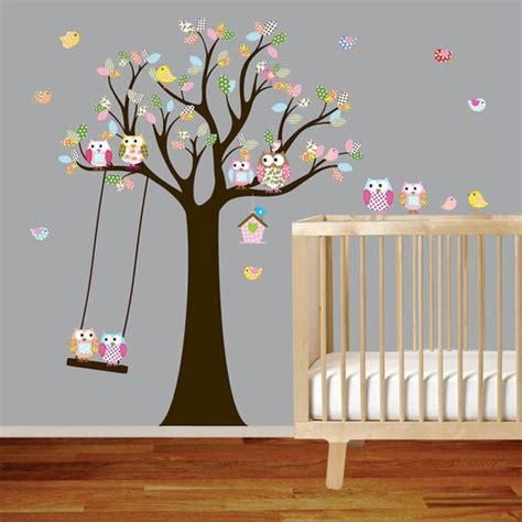 owl and tree wall stickers the world s catalog of ideas