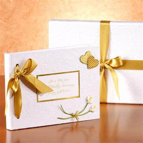 Wedding Album Maker Uk by Personalised Golden Wedding Anniversary Photo Album The