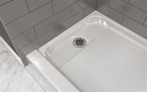 No Barrier Shower Pan by Faucet Cat6032srxxxxw In White By