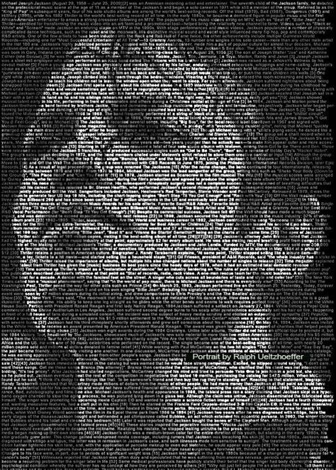 recount text biography michael jackson textportrait text portrait