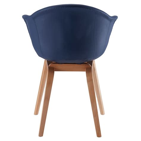 blue leather arm chair modern dining chairs marfa blue arm chair eurway