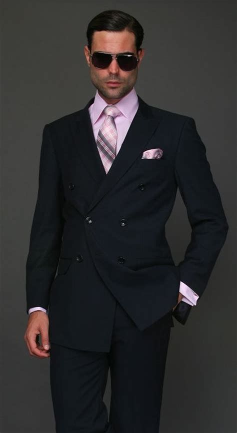 Handmade Italian Suits - pink accents wool and suits on