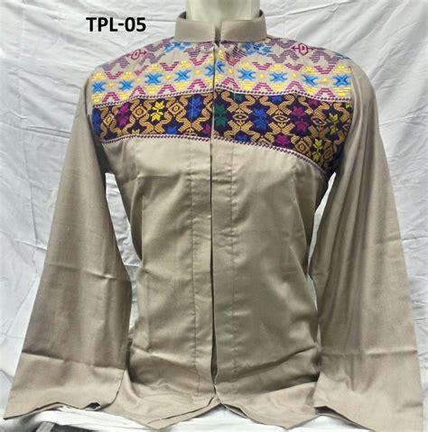 Model Baju Koko Panjang Baju Koko Tasmatas Lengan Panjang Model 2017