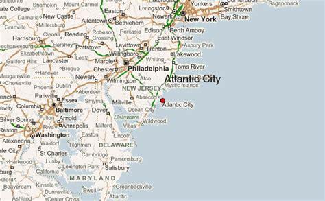 atlantic city map atlantic city location guide