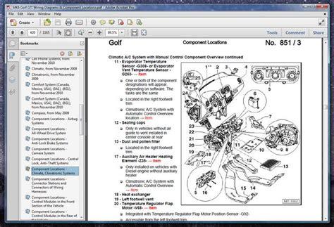free download parts manuals 2010 volkswagen golf head up display mk6 golf gti wiring diagrams component locations vw gti mkvi forum vw golf r forum vw
