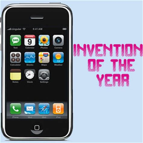 iphone wins invention of the year by time magazine
