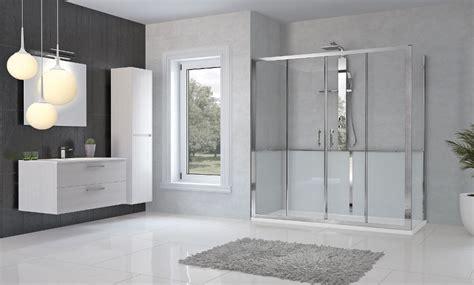 box doccia da vasca da vasca a doccia completa di installazione iteco idraulica