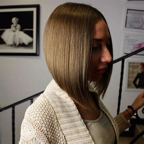 a line feathered bob hairstyles stumpfer bob frisur