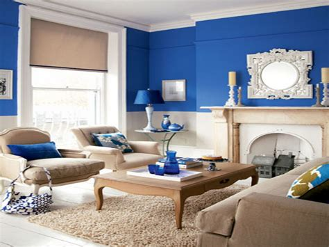 navy blue and brown living room decor