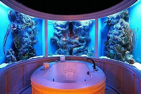 Aquarium Bathroom no room for an aquarium think again 20 places in