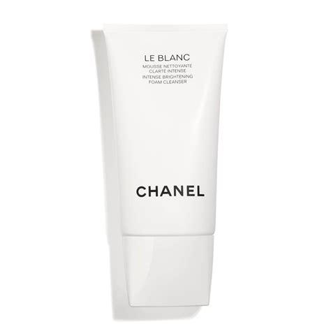 Harga Chanel Blanc Essentiel Serum le blanc brightening foam cleanser skincare chanel
