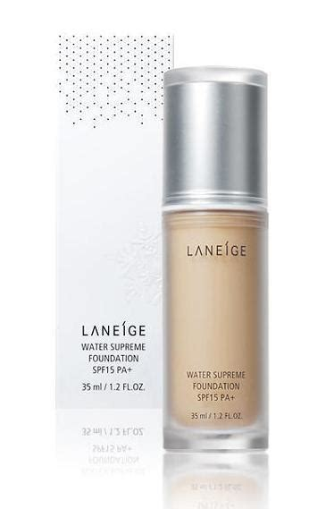 Laneige Water Supreme Foundation review laneige water supreme foundation beautifulbuns