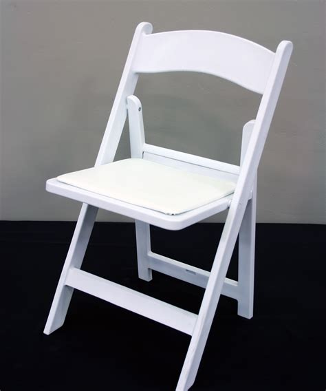 White Wood Folding Chairs by White Wood Resin Chair Walker Lewis Rents