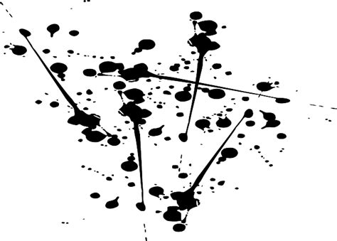 Pola Polka Dot Monochrome free vector graphic ink black splatter abstract free
