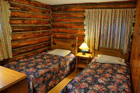 log cabin bed adirondack log cabins o sullivan s on the lake motel