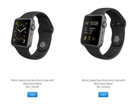 apple watch harga apple watch kini ditawarkan di malaysia harga dari rm1