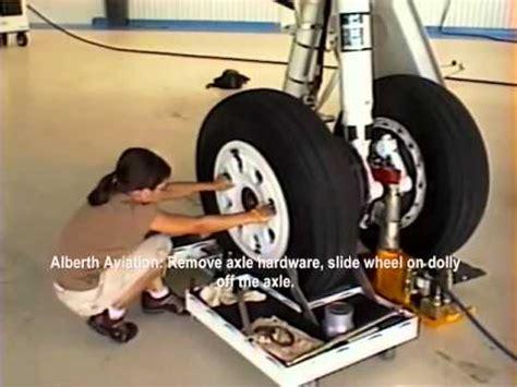 wheel dolly tire change   grader youtube