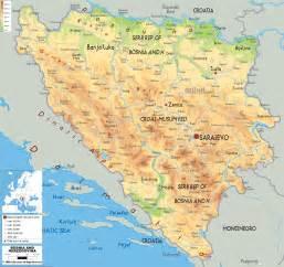 Bosnia World Map by Bosnia And Herzegovina Map