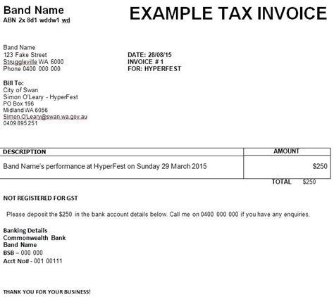 abn tax invoice template abn invoice no abn on invoice invoicing abn amro invoice