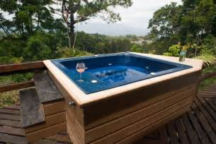 hot tubs incorporating a hot tub into a small but luxurious space