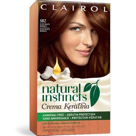 clairol light reddish brown hair dye clairol hair color chart natural instincts natural
