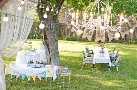 domestic fashionista summer backyard birthday party