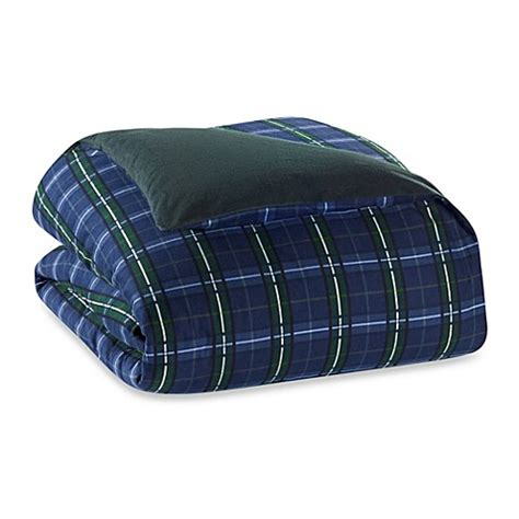 flannel comforter covers the seasons collection 174 flannel reversible duvet cover in