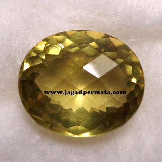 Cincin Yellow Aventurine yellow topaz gemstones jp124 jual batu permata hobi permata