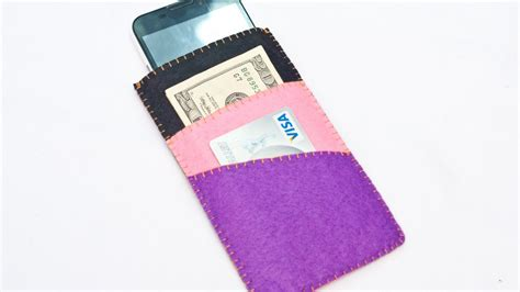 how to make a money card holder how to make cool phone with money and card holder