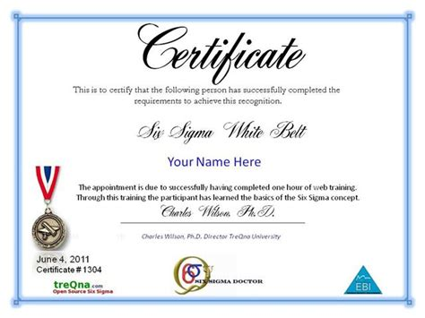 six sigma black belt certificate template six sigma supinfo 201 cole sup 233 rieure d informatique