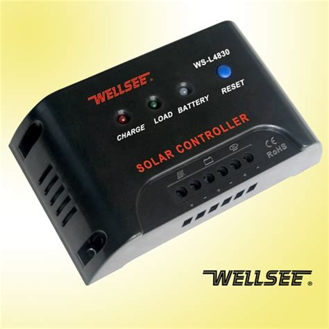 Solar Light Controller Wellsee Ws L4830 20a 48v Solar Light Controller