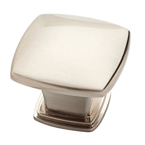 square brushed nickel cabinet knobs compare price to brushed nickel knobs square
