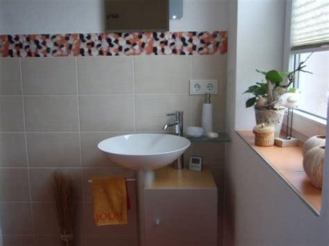 fliesen gäste wc badezimmer badezimmer orange grau badezimmer orange or
