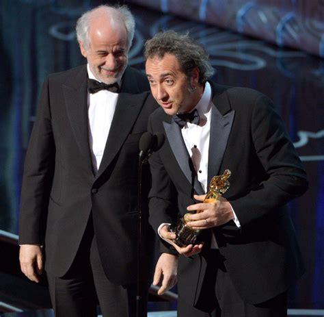 film oscar 2014 toni servillo and paolo sorrentino oscars 2014 winners