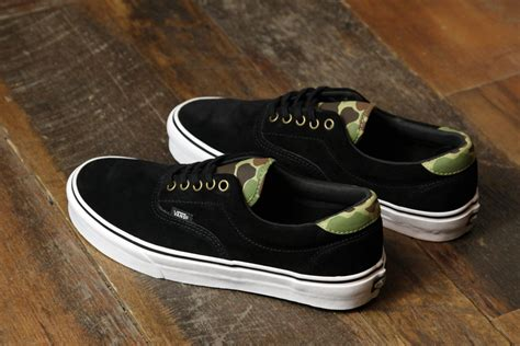 Vans Era 59 Black Camo by Vans Era 59 Black Camo Hypebeast