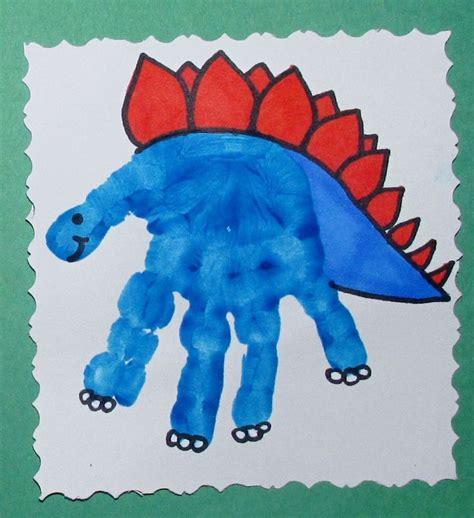 dinosaur craft ideas for dinosaur handprint educational activities