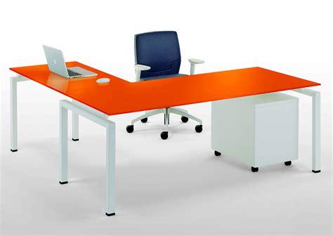 scrivania vetro scrivania ad angolo clip vetro galimberti sedie e tavoli
