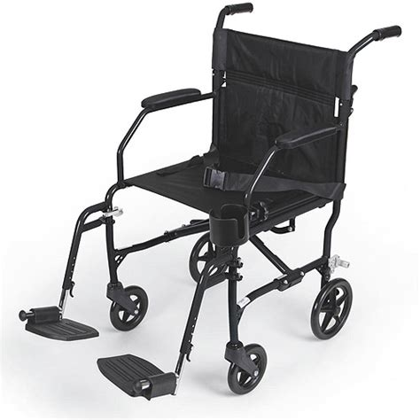 Transport Chairs At Walmart by Medline Ultralight Transport Chair Black Walmart