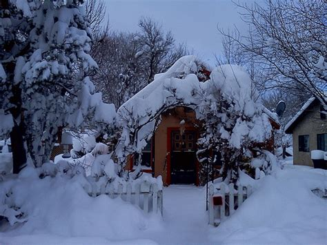flagstaff snowfall a snow covered home in flagstaff arizona flagstaff arizon flickr photo