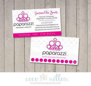 paparazzi business cards paparazzi business card printable by coco by cocowillowdesign